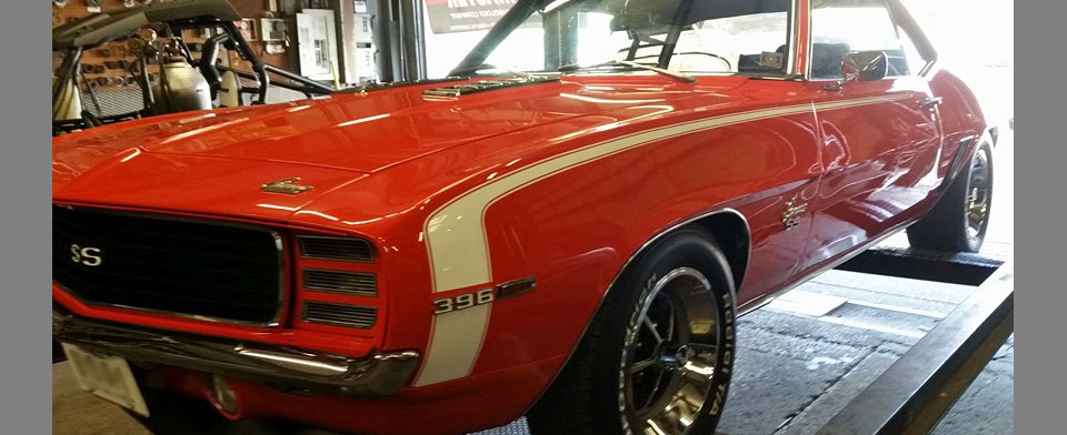 1969 Camero receives new exhaust system
