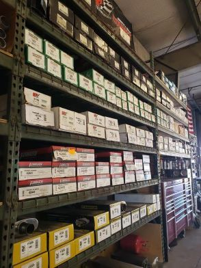 Exhaust Authority parts warehouse
